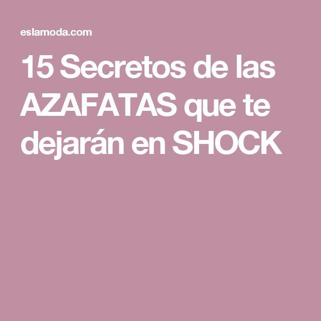 15 Secretos de las AZAFATAS que te dejarán en SHOCK