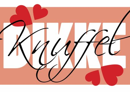 ♥Kaartje2go - Valentijnskaarten - Dikke knuffel