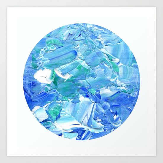 'Acrylic Reef [Circle]' by Ty Foley