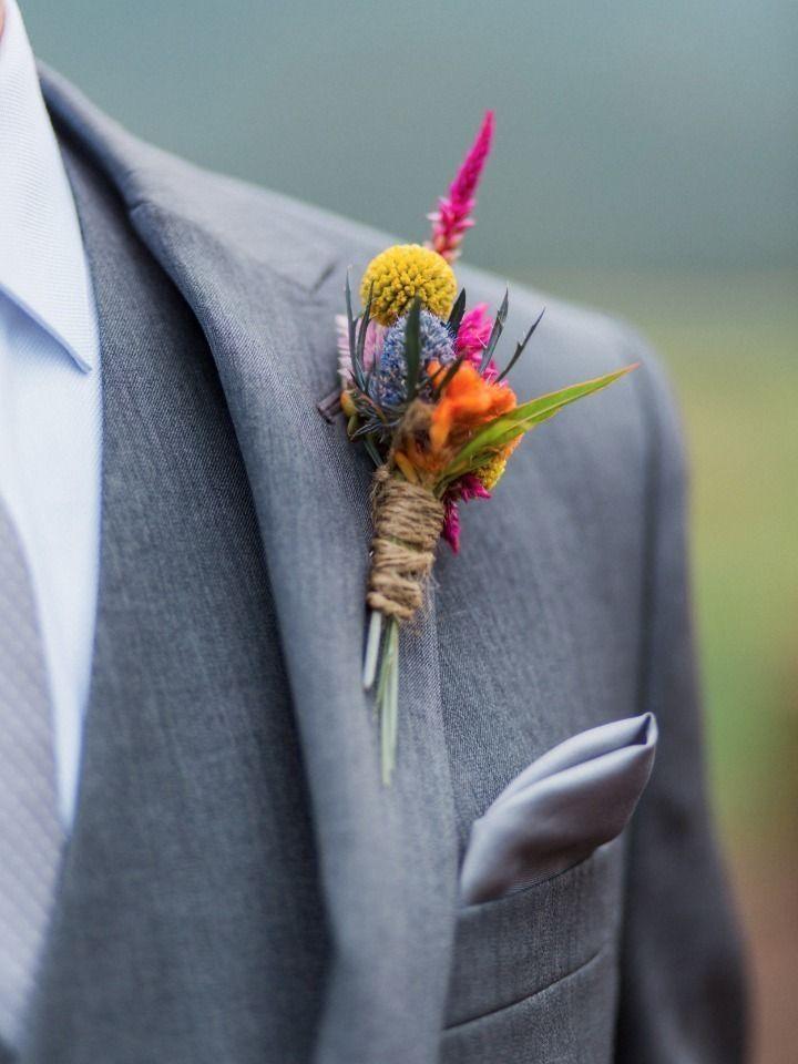 49 Awesome Herbst Hochzeit Boutonniere für jeden Bräutigam Ideen  #awesome #bo…