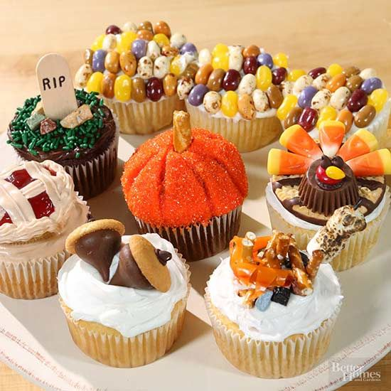 These adorable cupcakes will be the hit of the dessert table!
