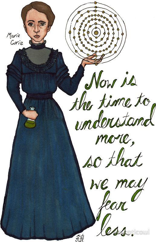 Marie Curie by neuroticowl