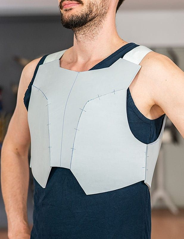 Male Breastplate Pattern Collection Download Pdf