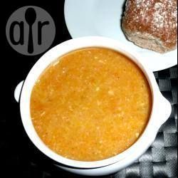 Simple lentil and bacon soup @ http://allrecipes.co.uk