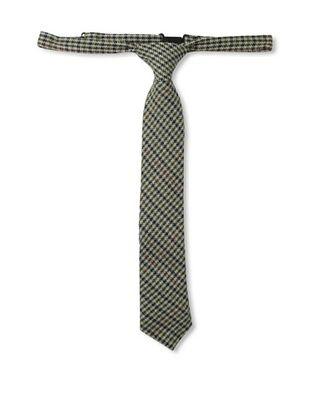 60% OFF Andy & Evan Boys 2-7 Houndstooth Wool Tie (Medium Brown)