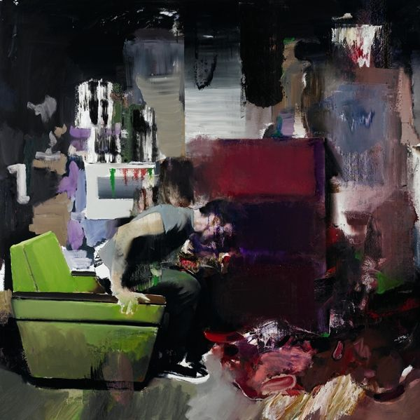 Adrian Ghenie sold this work for £1,426,000 ...he is an artist from Cluj-Napoca