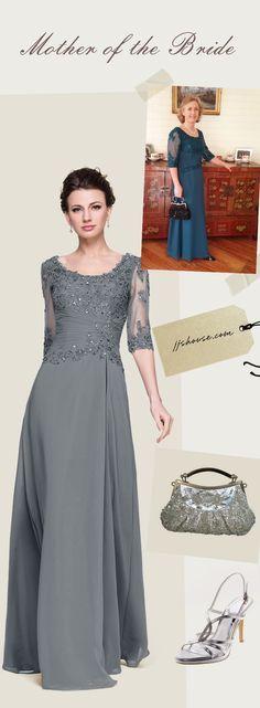 Mother of the Bride Dresses she will love! #motherofthebride&groom