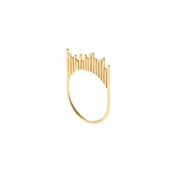 STICKS / RING / LIGHT / GOLD www.maleneglintborg.com