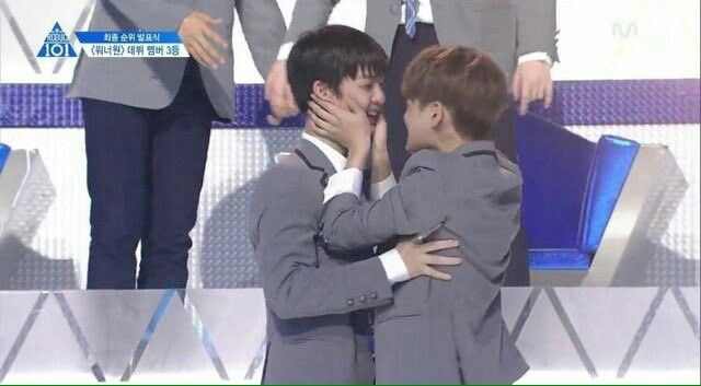 They look like they gonna kiss. Guys not in public  Baejin and Daehwi