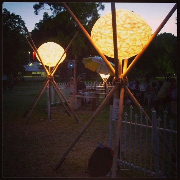 #lushlighting #festival #womad #gardenlighting