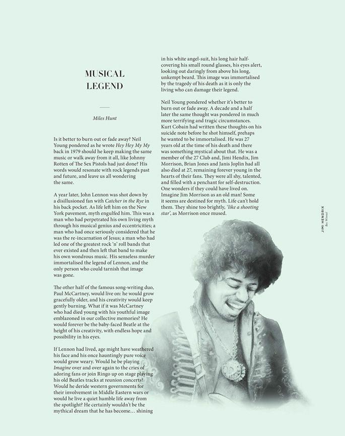 Bec Winnel - The Drawing Arm :: Illustration Agency #jimihendrix #becwinnel #thedrawingarm #thenationalgrid
