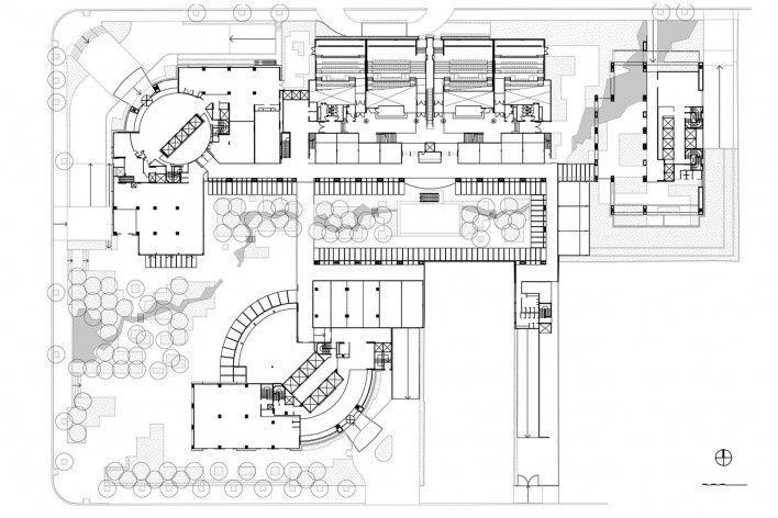 Implantação do Brascan Century Plaza<br />Imagem dos autores do projeto