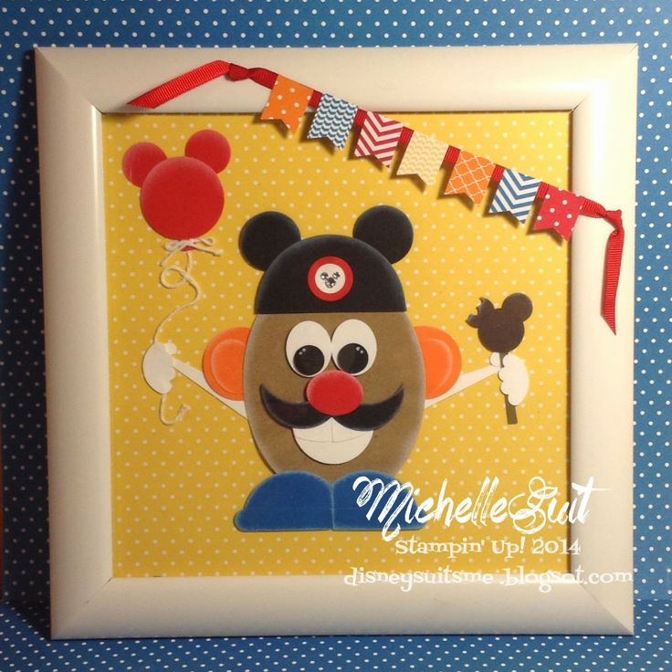 344 best SU Punch Art images – Mr Potato Head Birthday Card