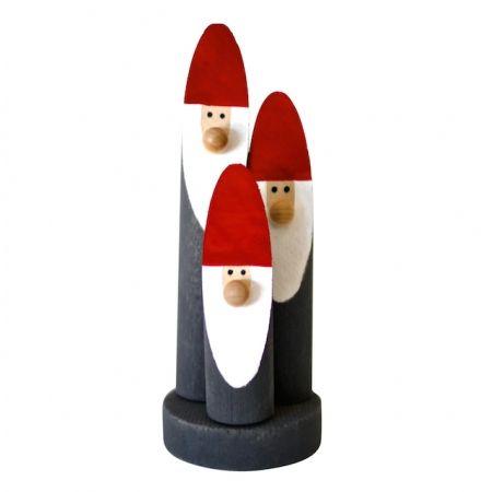 Santa tree stump group decoration - Santa Treestump CHRISTMAS IN #HTFSTYLE