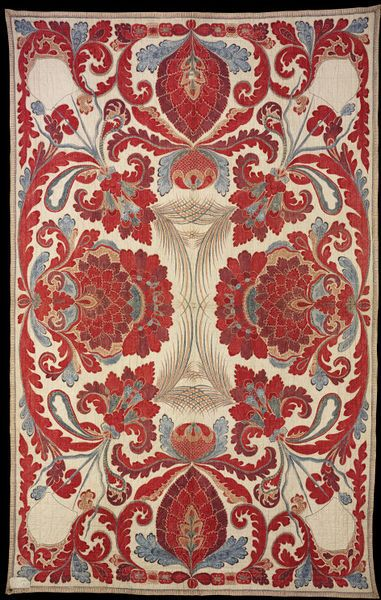 Quilted bed-cover designed for the Dutch market, India, ca. 1700-1750 l Victoria and Albert Museum #quilts
