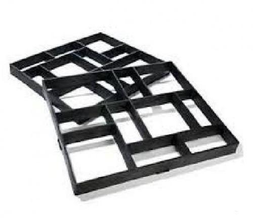 molde para piso de concreto. seu piso no estilo de tijolos