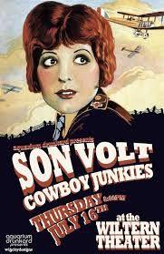 Cartaz de um concerto dos Cowboys Junkies