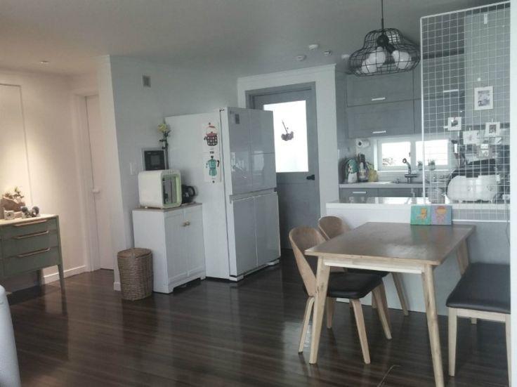 온라인 집들이 - 주방인테리어(kitchen) 시트지(필름시공)로 환골탈태 : 네이버 블로그