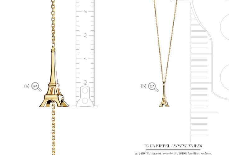 TOUR EIFFEL - a taste of Paris!  From the AGATHA Paris MiNi Joaillerie collection