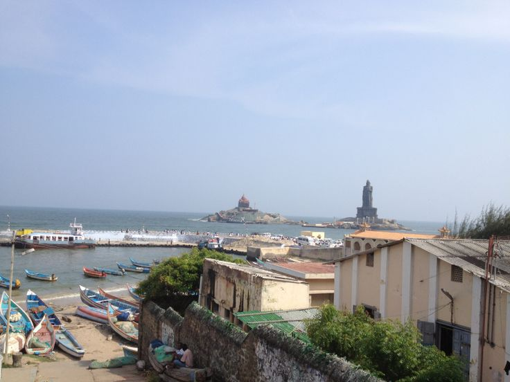 Headed down to the southern most tip of India, a place called Kanyakumari formally called Cape Comorin. I wanted stand at the very southern tip just be there but also to visit a Vivekananda memorial and temple for meditation.  http://www.InnerOuterYou.com