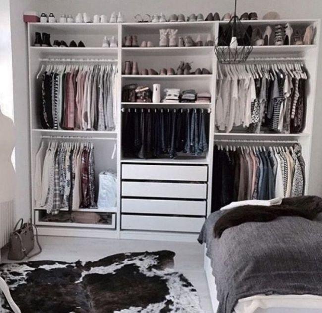 Garderobe Bedroom Organization Closet Closet Bedroom Closet Layout