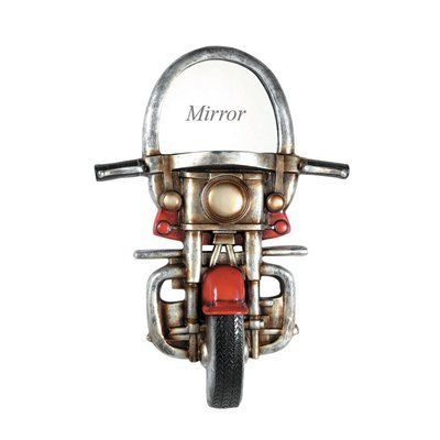 RAM Game Room R703 Motorcycle Décor Wall Mirror