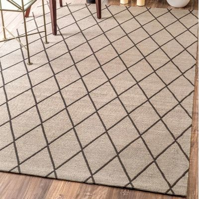 Darby Home Co Sandwell Tan Area Rug Rug Size: