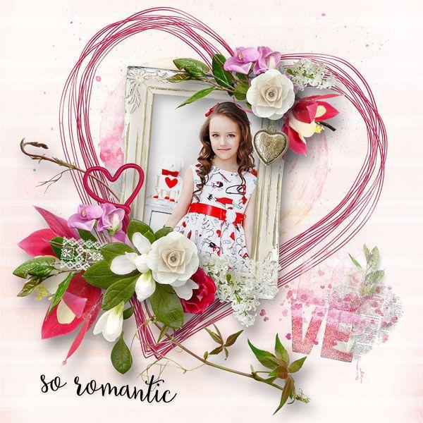 So Romantic Collection + Free Gift by Palvinka Designs  http://www.thedigichick.com/shop/So-Romantic-Collection.html save 35% RAK for Jeva Pridvižkina