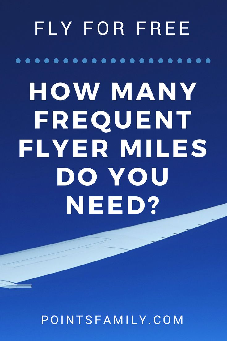 How many frequent flyer miles do you need for a free flight? Find out how many miles you need to fly for free on each major airline.