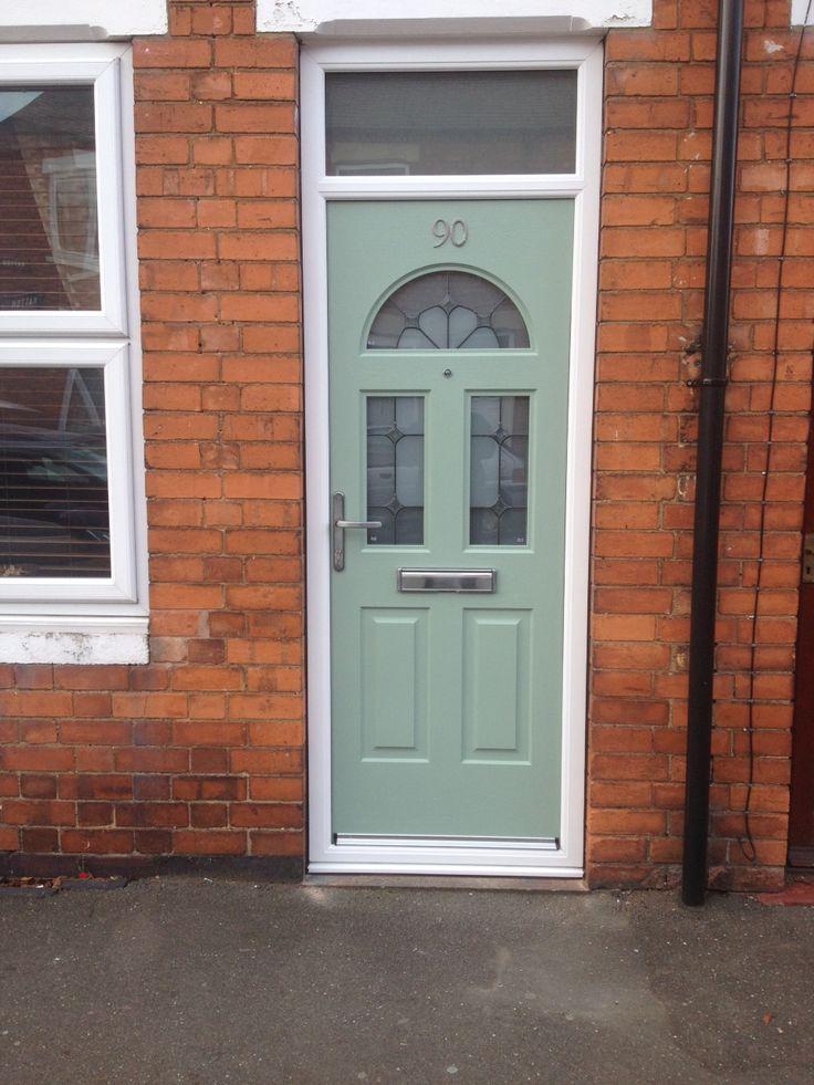 beautiful Rockdoor, definitely brightens the place up!  http://www.beeclear-windows.co.uk/  door, renovation, improvement, Newark,