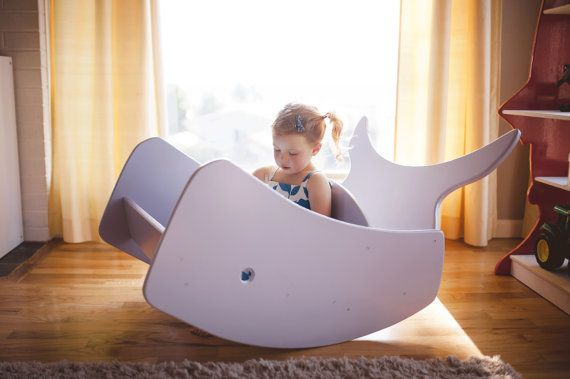 Whale of a Time Double Rocking Chair