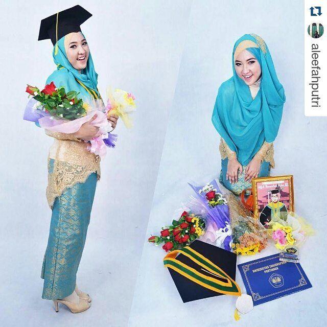 Model Kebaya Hijab Terbaru Untuk Wisuda Tutorial Hijab Terbaru