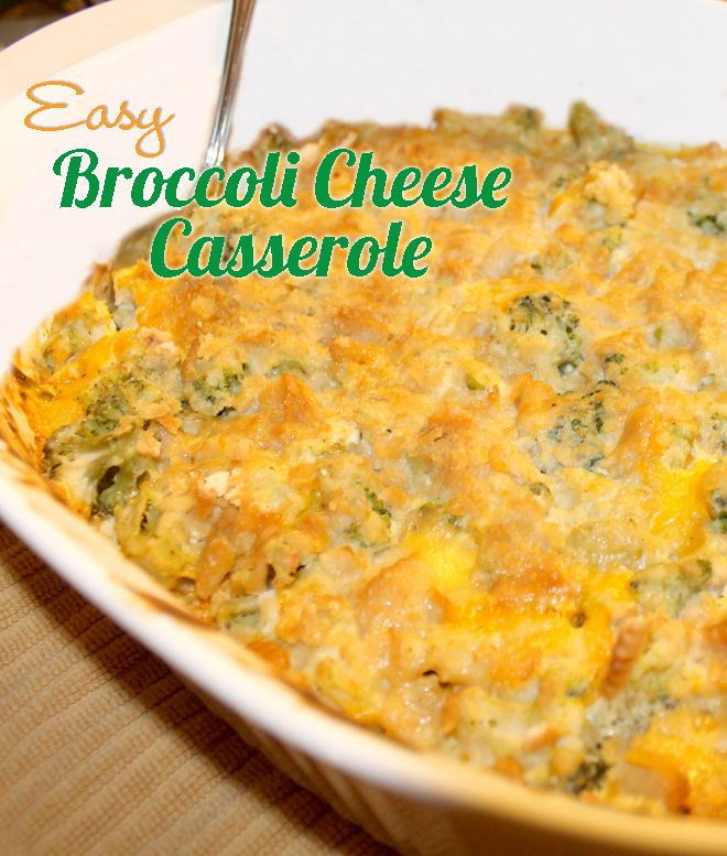 Broccoli Cheese Casserole is my absolute favorite side dish for the holidays. It kid friendly too, and it's a family recipe we've made for over 30 years.