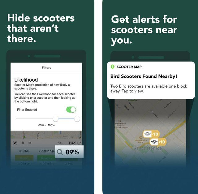 Scooter Map is an App to Locate Any E-Scooter | Tech | E