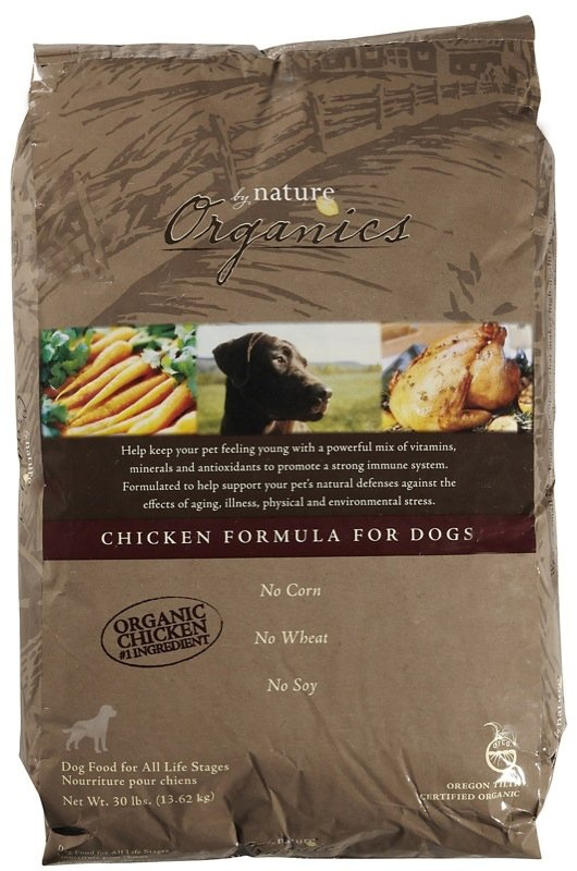 By Nature Organics Chicken Formula Dry Dog Food