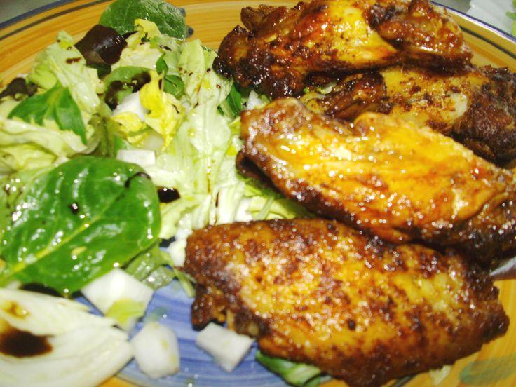 Alette di pollo piccanti al forno ricetta semplice ed economica