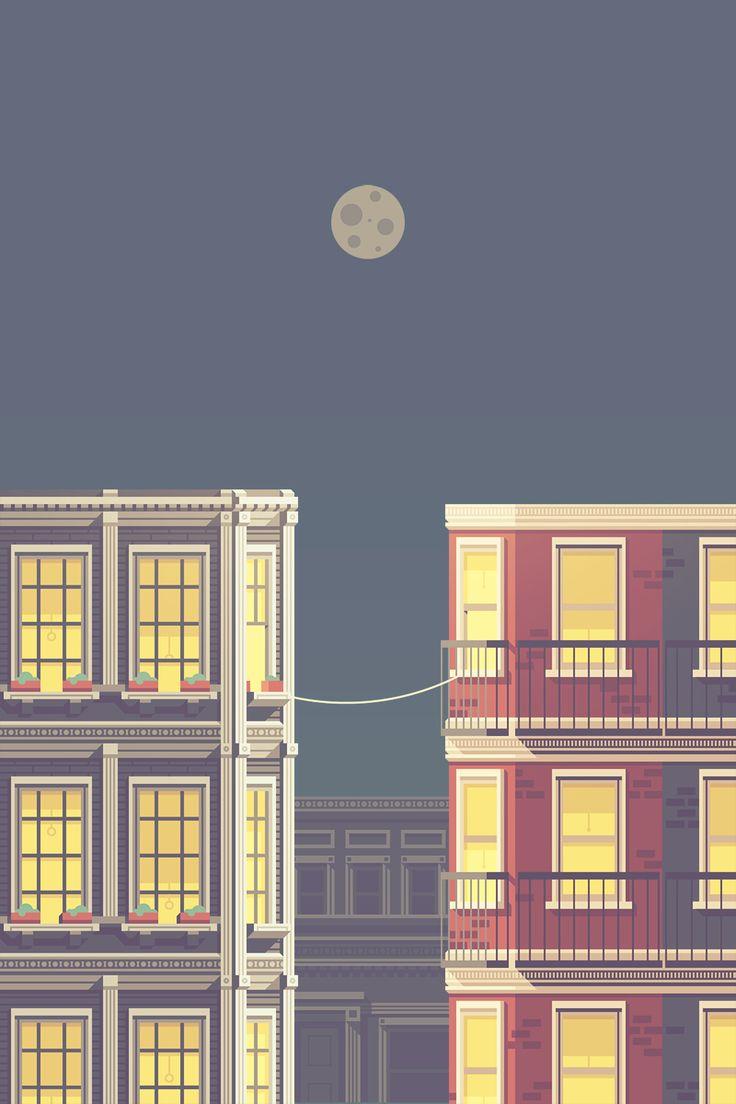 La Telephone: A Love Story | Illustrator: Justin Messell