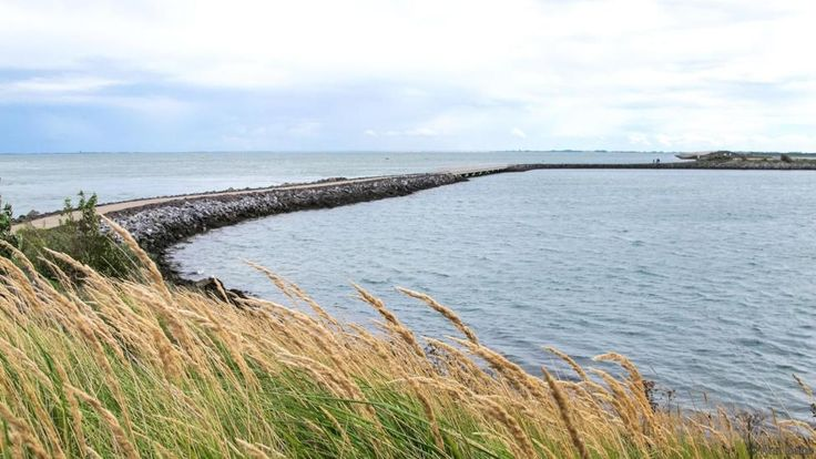 Retractable storm surge barriers keep water at bay in Zeeland (Credit: Credit: Ann Babe)