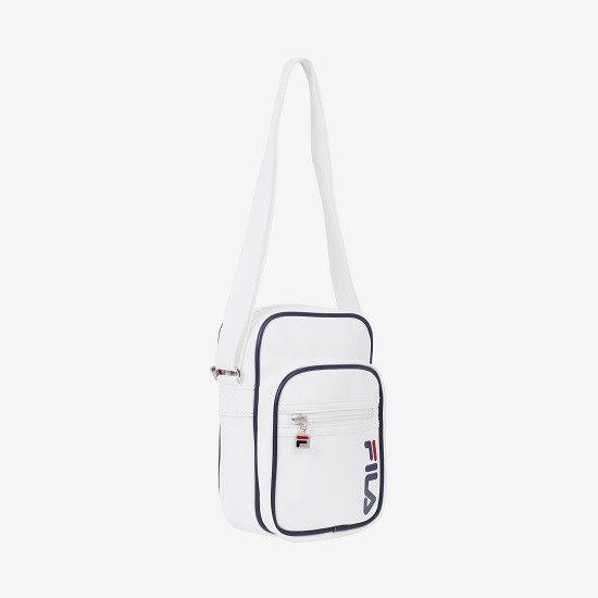 FILA Heritage Classic Mini Cross Bag Unisex Shoulder Messenger White  FS3BCZ6356X  FILA  MessengerShoulderBag 1b17c6846c106
