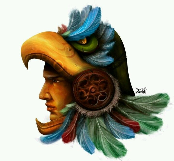 aztec warrior (Guerrero águila)