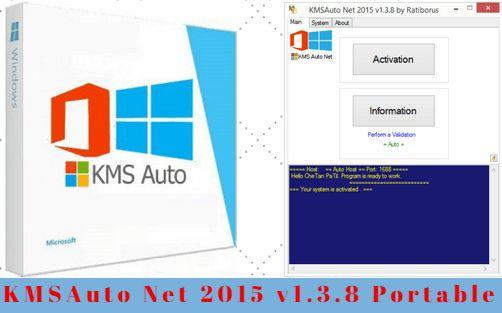 http://www.latesthackingsoftwares.com/ KMSAuto Net 2015 v1.3.8 Portable