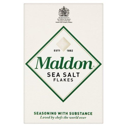 250g Maldon Sea Salt Flakes, Meersalzflocken, Salz