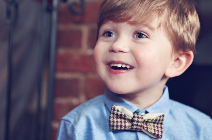 Our charming model is wearing the 'Charles' bow tie from our accessories collection. Available from 30/11/12 on www.brit-kid.co.uk #BowTie #Boys