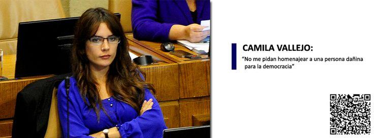 """""""Hoy votamos contra el #lucro, uno de los principales legados también de #JaimeGuzmán en materia educacional. Por lo tanto, creo que es coherente con lo que pienso y por lo que la gente también votó por mí"""", dijo la legisladora comunista."""