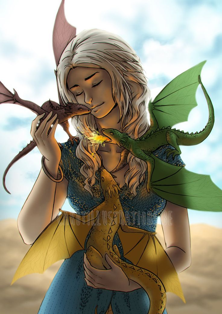 Daenerys Targaryan by CAROTdrawsthings.deviantart.com on @DeviantArt