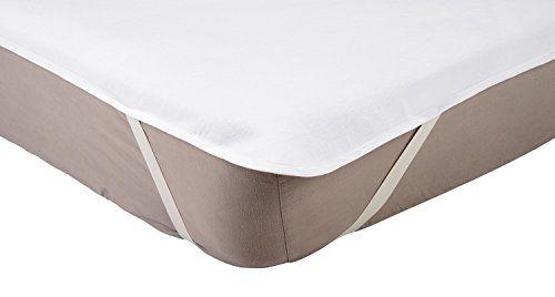 AmazonBasics Protège-matelas en molleton Imperméable 70 x 140 cm (taille lit enfant)