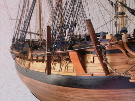 帆船模型 H.M.S.ダイアナ