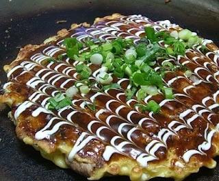 Recetas Japonesas en español!: Okonomiyaki - pizza japonesa
