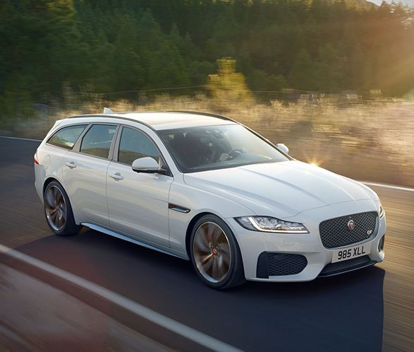 British car maker Jaguar have just revealed the stunning new Jaguar XF Sportbrake, a sleek wagon with a spacious and versatile interior. Set to compete with the latest BMW 5-series Touring, Mercedes E-class estate and Volvo V90, the new XF Sportbrake
