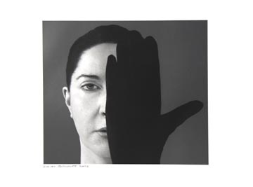 Marina Abramovic    Light Side/Dark Side, 2006    Resin-coated type laser-exposed print on Ilfospeed resin-coated digital paper    22 x 30 inches edition of 50, 6 APs, 5 PPs